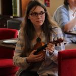 Alexandra Pommier au violon