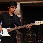 Reutty à la guitare